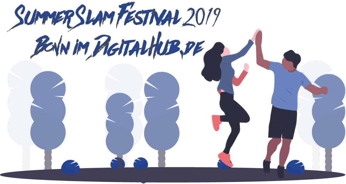 SUMMER SLAM Festival 2019 im Digital Hub Bonn