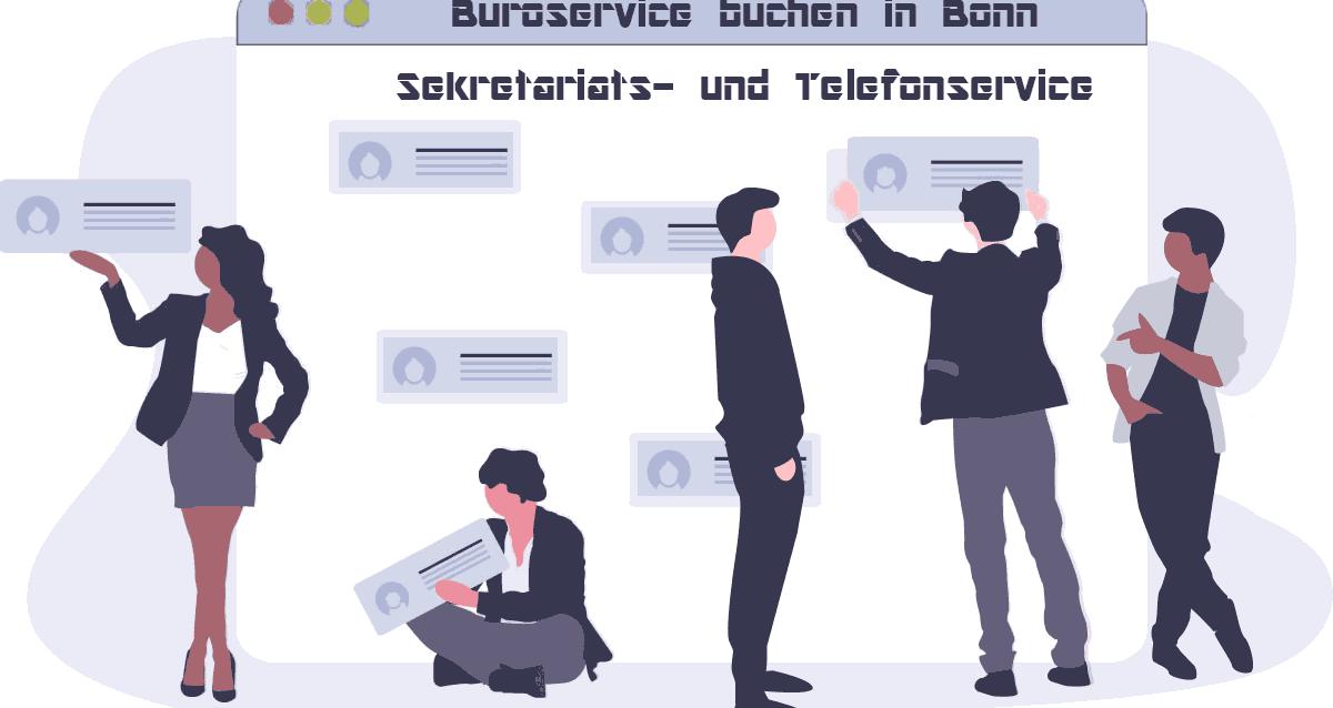 Büroservice buchen in Bonn | Sekretariats- und Telefonservice
