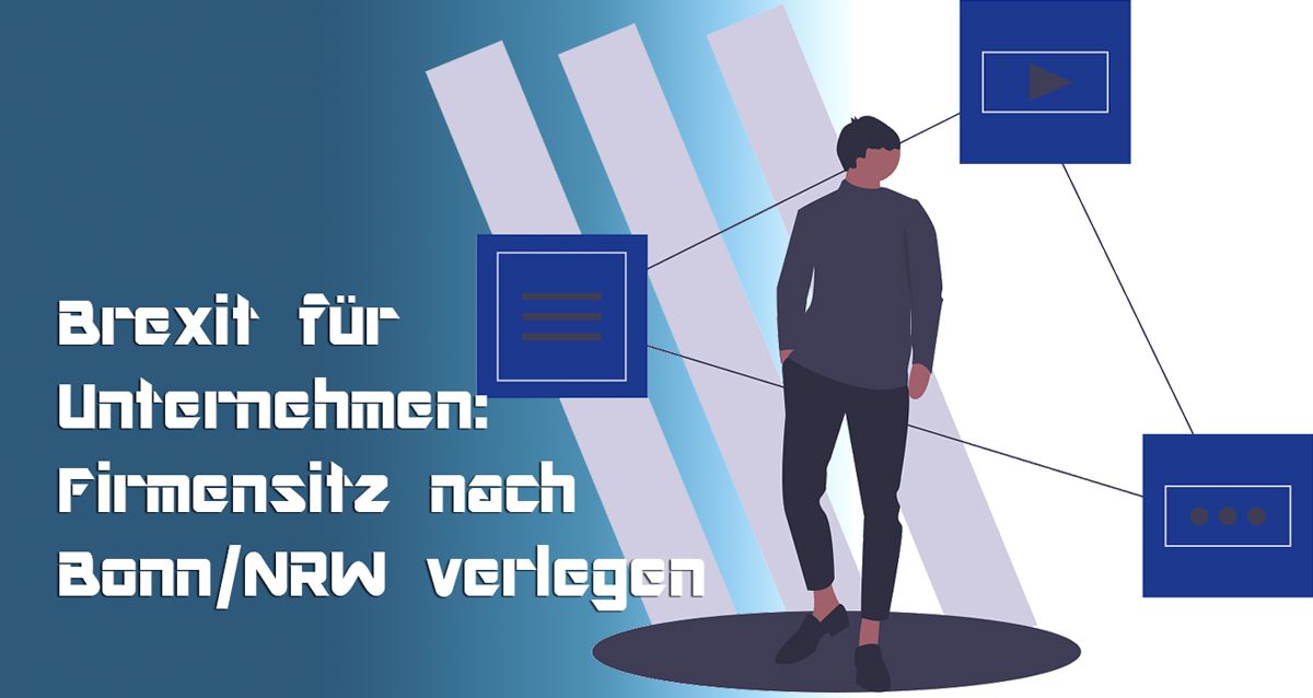 EU-Austritt des Vereinigten Königreichs und Büros in Bonn NRW