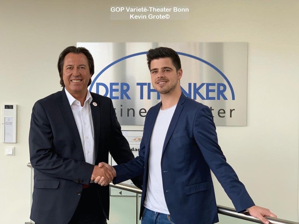 GOP Varieté-Theater Bonn und Ihre Geschichte mit Kevin Grote